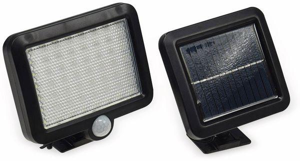 Solar LED-Fluter mit Bewegungsmelder, 5,5 W, 450 lm, 4200 K, schwarz - Produktbild 2