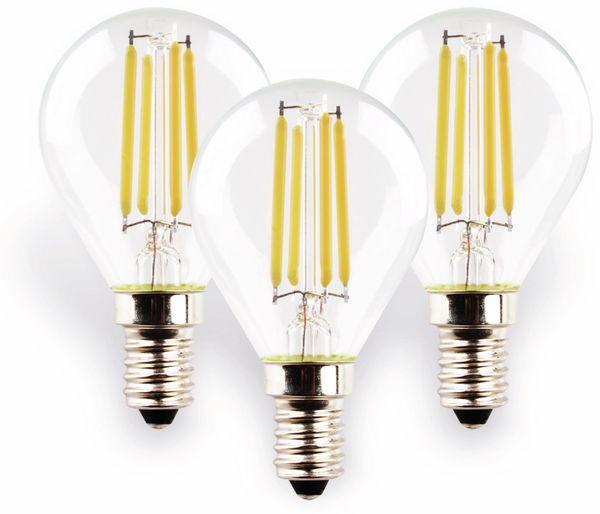 LED-Lampe MÜLLER-LICHT 400293, E14, EEK: E, 4 W, 470 lm, 2700 K, 3 Stück