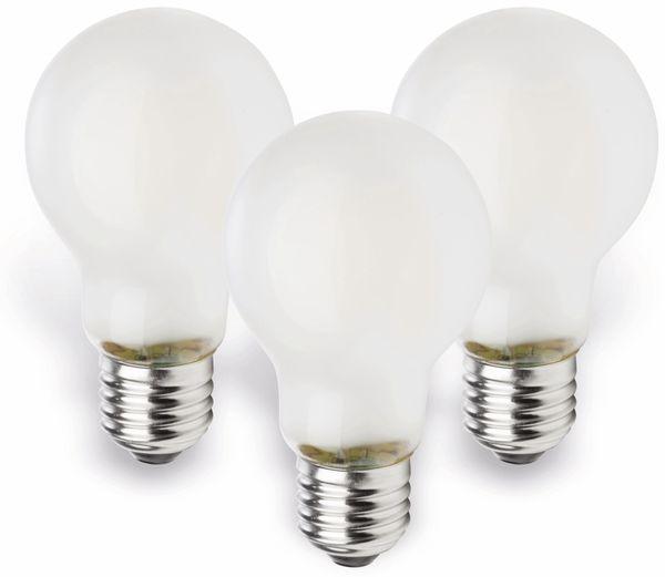 LED-Lampe MÜLLER-LICHT, E27, EEK: A++, 4 W, 470 lm, 2700 K, matt, 3 Stück - Produktbild 1