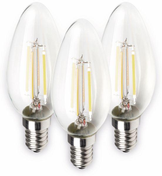 LED-Lampe MÜLLER-LICHT 400291, E14, EEK: E, 4 W, 470 lm, 2700 K, 3 Stück