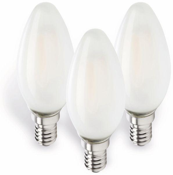 LED-Lampe MÜLLER-LICHT 400292, E14, EEK: E, 4 W, 470 lm, 2700 K, 3 Stück