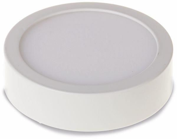 LED-Deckenleuchte VT-605 (4904 Round, EEK: A, 6 W, 420 lm, 3000K,rund, weiß - Produktbild 1