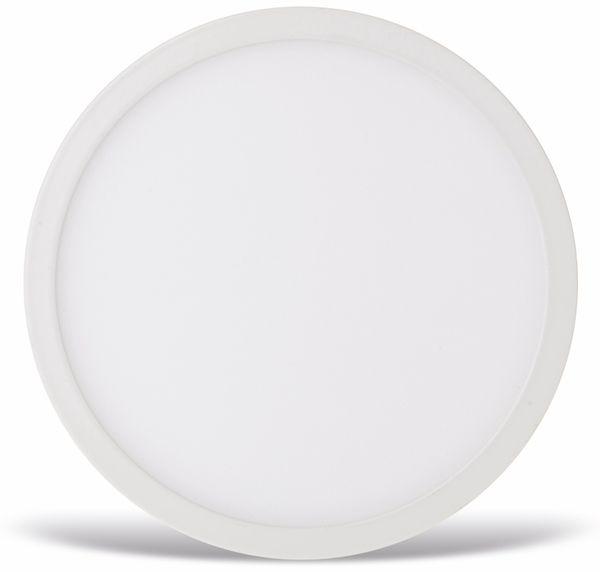 LED-Deckenleuchte VT-1205(4911), EEK: A, 12 W, 900 lm, 4500 K, rund, weiß - Produktbild 2