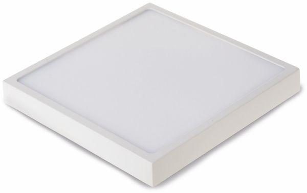 LED-Deckenleuchte VT-1805(4919), EEK: A, 18 W, 1440 lm, 3000 K, eckig, weiß - Produktbild 1