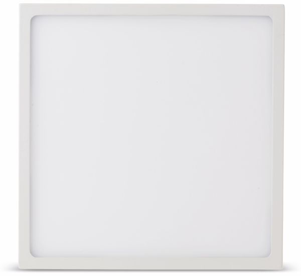 LED-Deckenleuchte VT-1805(4919), EEK: A, 18 W, 1440 lm, 3000 K, eckig, weiß - Produktbild 2