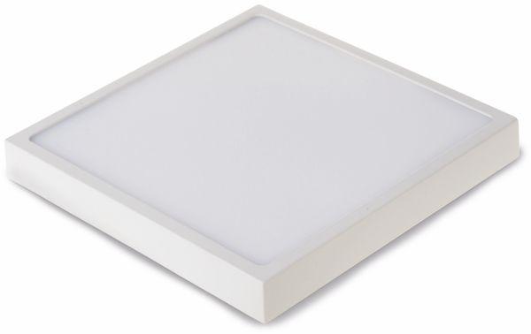 LED-Deckenleuchte VT-1805(4920), EEK: A, 18 W, 1440 lm, 4500 K, eckig, weiß - Produktbild 1