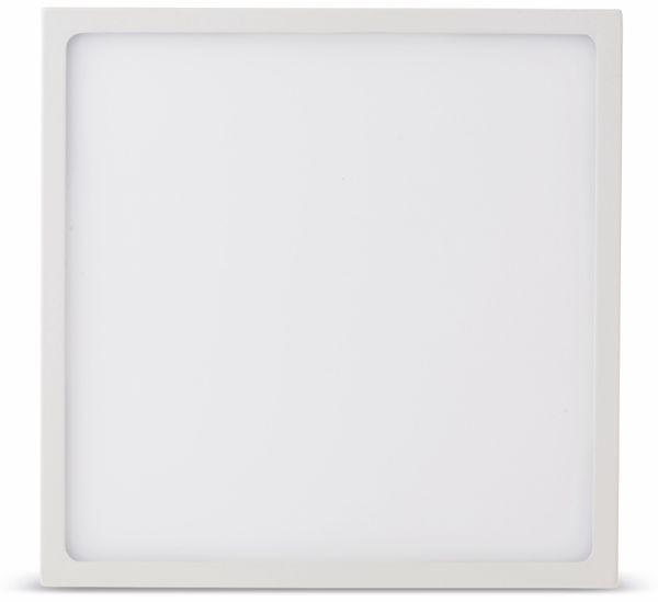 LED-Deckenleuchte VT-1805(4920), EEK: A, 18 W, 1440 lm, 4500 K, eckig, weiß - Produktbild 2