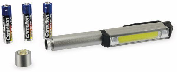 LED Inspektionsleuchte CAMELION T11-12, 3W, COB, Aluminium - Produktbild 5