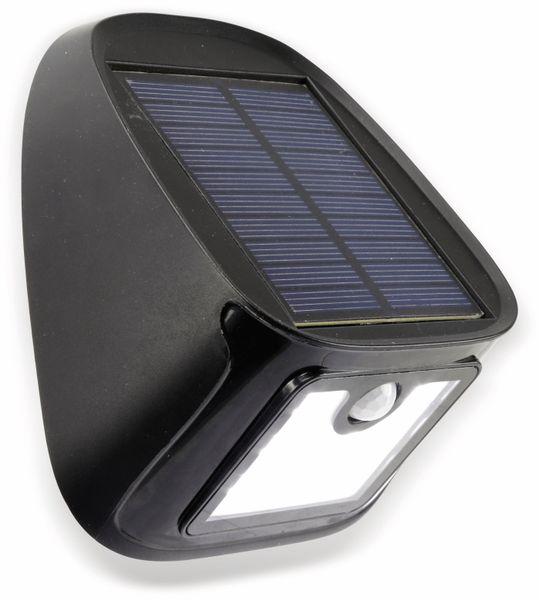 Solar-LED Wandleuchte DAYLITE TY103 mit Sensor, 1,1W, schwarz