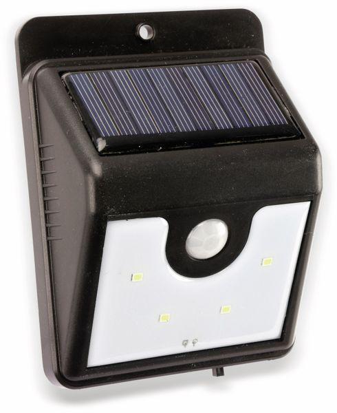 Solar-LED Wandleuchte DAYLITE TY108 mit Sensor,0,5W, schwarz - Produktbild 1