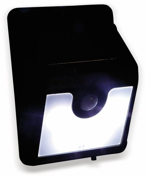 Solar-LED Wandleuchte DAYLITE TY108 mit Sensor,0,5W, schwarz - Produktbild 2