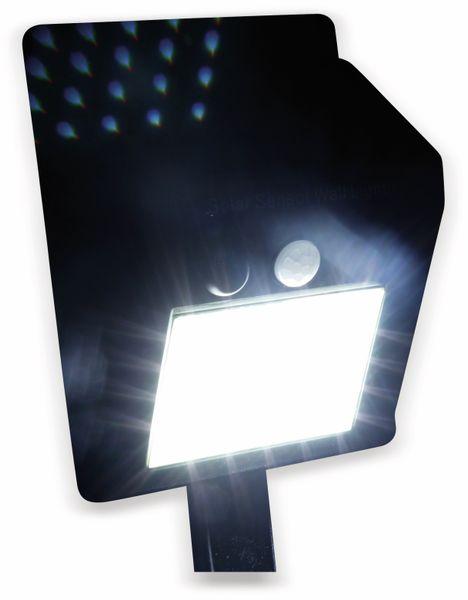 Solar-LED Wandleuchte DAYLITE TY106 mit Sensor, 1,8W, schwarz - Produktbild 2