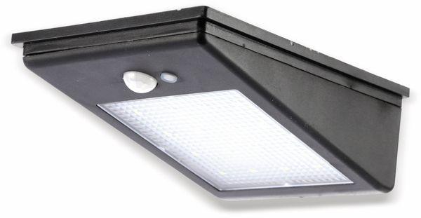 Solar-LED Wandleuchte DAYLITE TY107 mit Sensor, 2W, schwarz