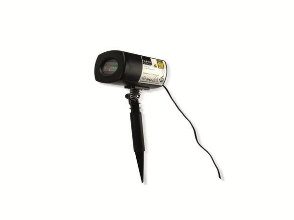 Laser-Projektor GT-GL-01; 230V~, schwarz, B-Ware - Produktbild 1