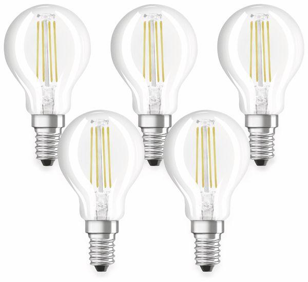 LED-Lampe OSRAM BASE CLASSIC P, E14, EEK: A++, 4 W, 470 lm, 2700 K, 5 Stk. - Produktbild 1