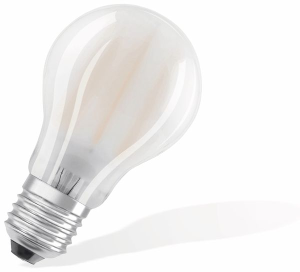 LED-Lampe OSRAM BASE CLAS A, E27, EEK: A++, 7W, 806 lm, 2700 K, 5 Stk. matt - Produktbild 2