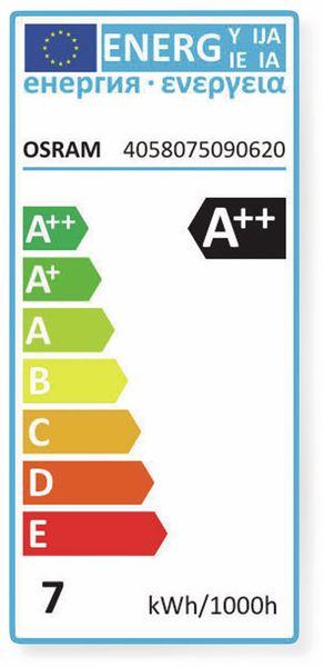 LED-Lampe OSRAM BASE CLAS A, E27, EEK: A++, 7W, 806 lm, 2700 K, 5 Stk. matt - Produktbild 5