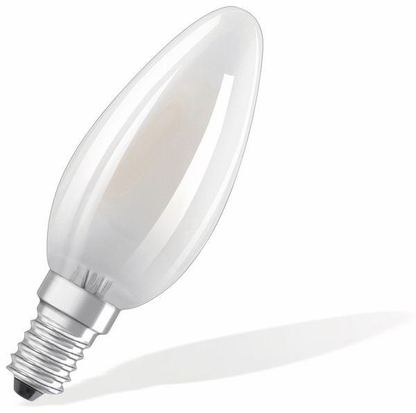 LED-Lampe OSRAM BASE CLAS A, E14, EEK: E, 4W, 470 lm, 2700 K, 5 Stk. matt - Produktbild 2