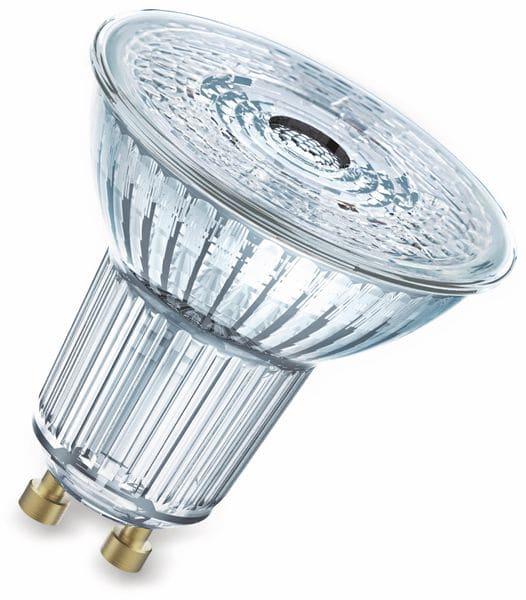 LED-Lampe OSRAM LED BASE PAR16, GU10, EEK A+, 4,3 W, 350 lm, 2700 K, 5 Stk.