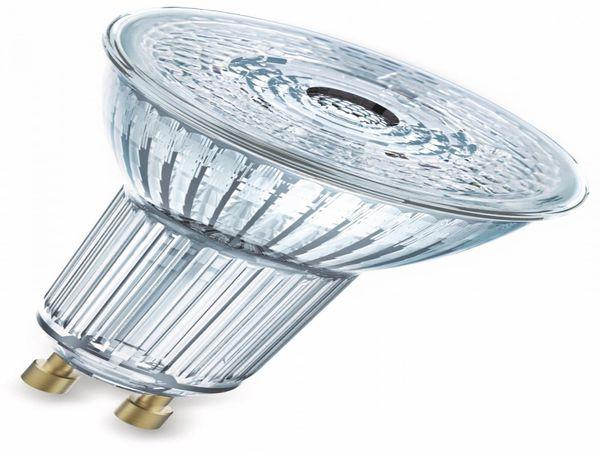 LED-Lampe OSRAM LED BASE PAR16, GU10, EEK F, 4,3 W, 350 lm, 2700 K, 5 Stk. - Produktbild 2