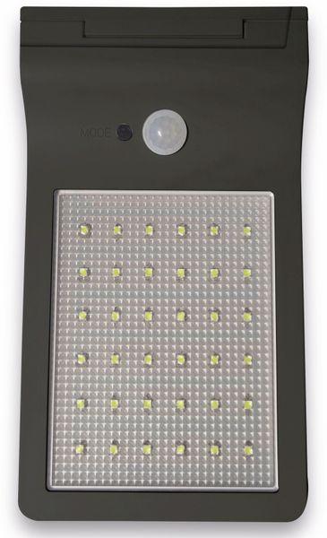 LED-Solar-Außen Leuchte MÜLLER LICHT 21000005, 36 LEDs, PIR, schwarz
