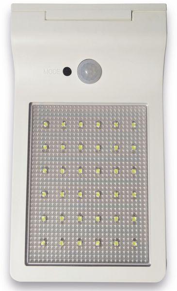 LED-Solar-Außen Leuchte MÜLLER LICHT 21000006, 36 LEDs, PIR, weiß