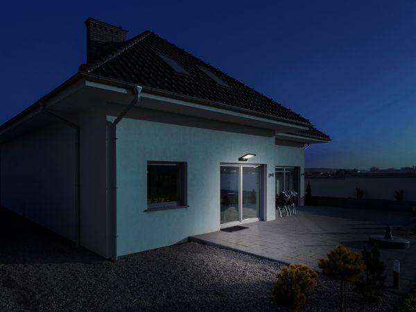 LED-Solar-Außen Leuchte MÜLLER LICHT 21000006, 36 LEDs, PIR, weiß - Produktbild 4