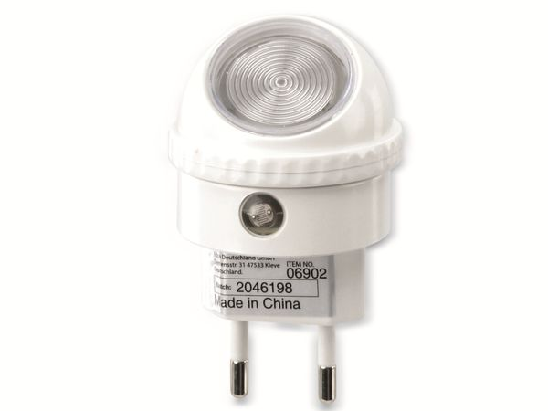 Nachtlicht GRUNDIG, Sensor, 230V~, 360° Drehbar - Produktbild 1