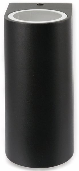 Wandleuchte GRUNDIG 07538, Aluminium,GU10, IP 44, schwarz - Produktbild 2