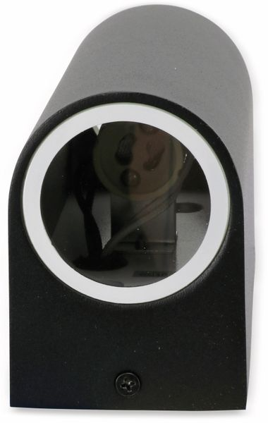 Wandleuchte GRUNDIG 07538, Aluminium,GU10, IP 44, schwarz - Produktbild 3