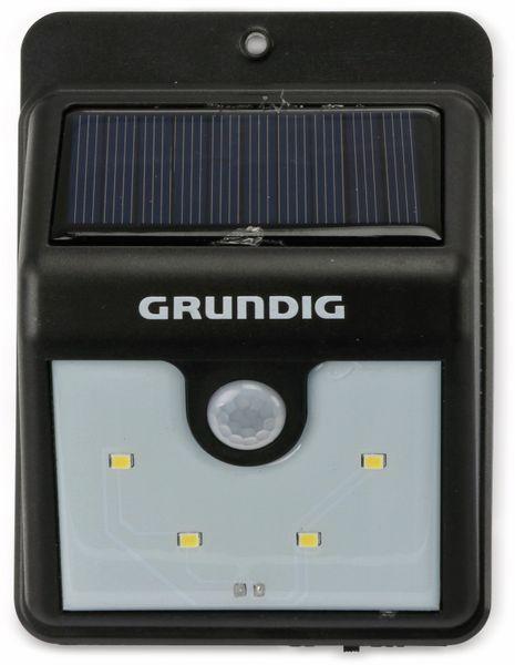 Solar-LED Wandleuchte GRUNDIG 06999, mit Sensor, 40 Lm, schwarz - Produktbild 2