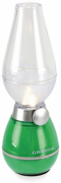 LED Retro-Laterne GRUNDIG, dimmbar, Batteriebetrieb, grün - Produktbild 1