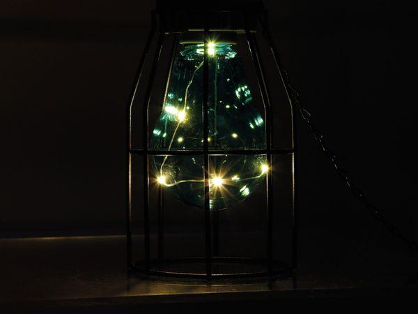 Solar LED-Hänge Leuchte, Gitteroptik - Produktbild 3