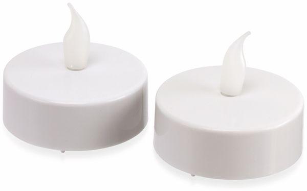LED-Teelichte XL, DYNAMAX, 2 Stück