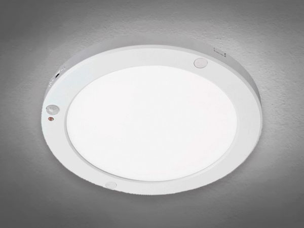 LED Decken Panel MOBiLED, EEK: A, 18W, 1200 lm, 2700K, Bewegungsmelder