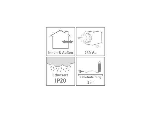 LED-Deckenleuchte, V-TAC VT-8-50 (668) EEK: E, 50W, 6000 lm, 1500 mm, 4000 K - Produktbild 2