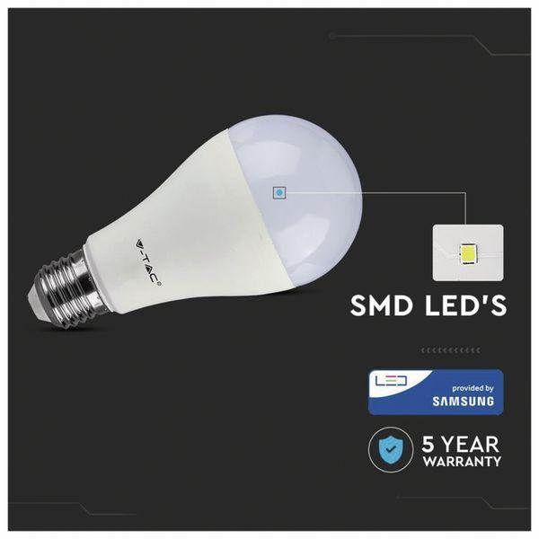 LED-Lampe V-TAC VT 215 (159), E27, EEK: G, 15 W, 1250 lm, 3000 K - Produktbild 4