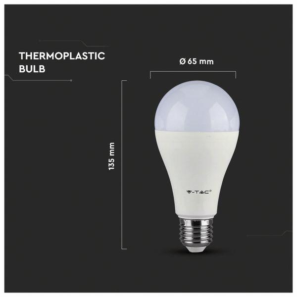 LED-Lampe V-TAC VT 215 (159), E27, EEK: G, 15 W, 1250 lm, 3000 K - Produktbild 5