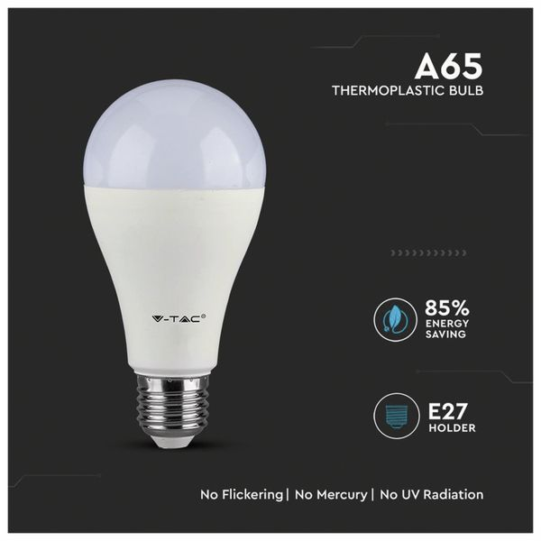 LED-Lampe V-TAC VT 217 (162), E27, EEK: A+, 17 W, 1521 lm, 3000 K - Produktbild 3
