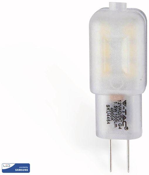 LED-Lampe V-TAC VT 201 (240), G4, EEK: G, 1,5 W, 100 lm, 3000 K