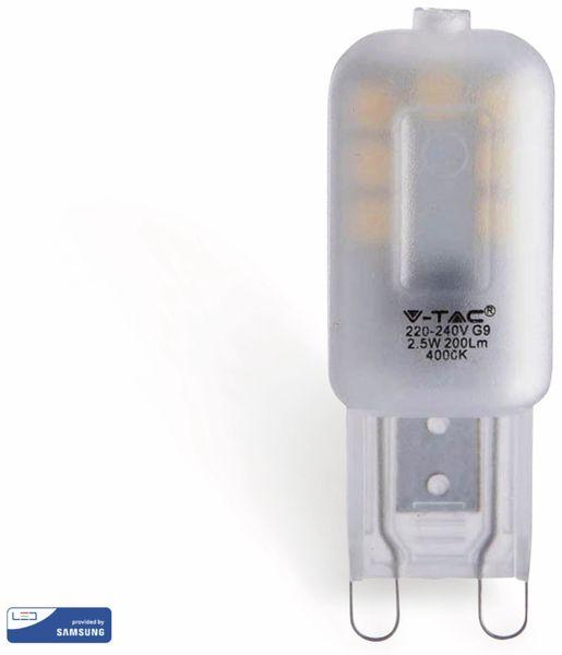 LED-Lampe V-TAC VT-203 (243), G9, EEK: A+, 2,5 W, 200 lm, 3000 K