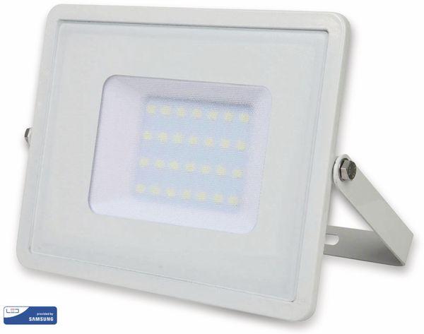 LED-Flutlichtstrahler V-TAC VT-30 (404), EEK: A, 30 W, 2400 lm, 4000K