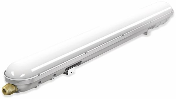 LED-Feuchtraum-Wannenleuchte ,V-TAC VT-6048 (6198) EEK: A+, 18 W, 4500K