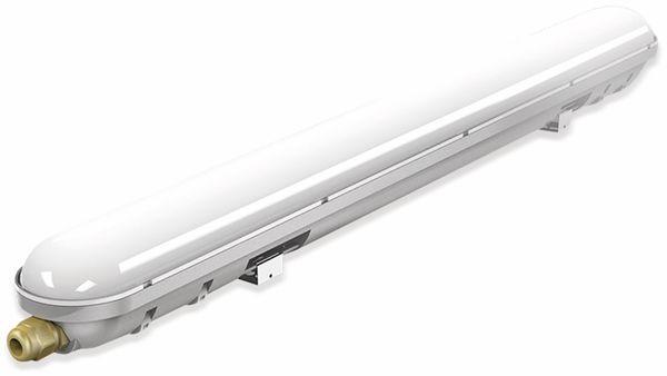 LED-Feuchtraum-Wannenleuchte ,V-TAC VT-6048 (6198) EEK:G, 18 W, 4500K