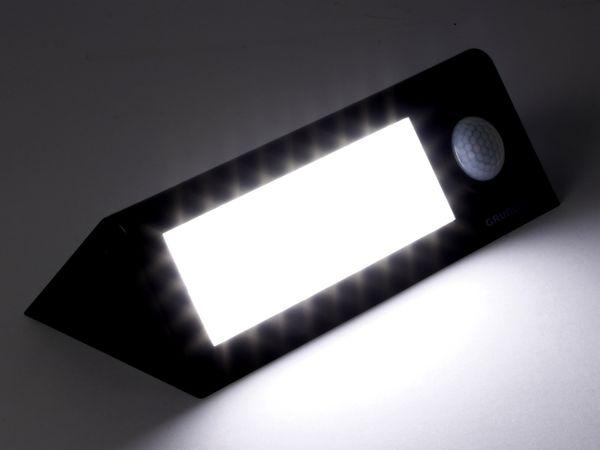 LED-Solar-Außen Leuchte GRUNDIG 07447, 36 LEDs, PIR, schwarz - Produktbild 4
