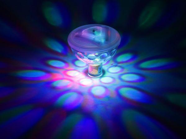 Unterwasserleuchte 4 LEDs batteriebetrieben - Produktbild 3
