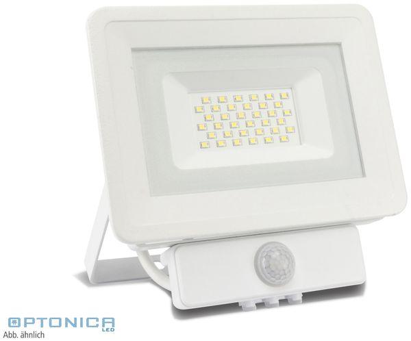 LED-Fluter, Bewegungsmelder OPTONICA FL5841, EEK: A+, 10 W, 6000K, weiß