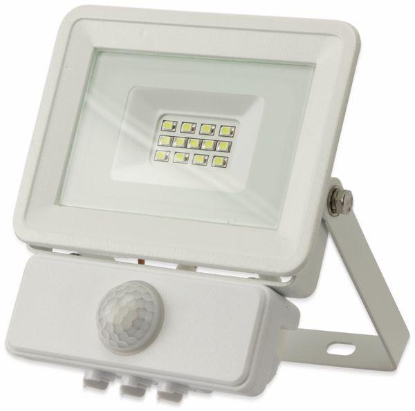 LED-Fluter, Bewegungsmelder OPTONICA FL5842, EEK: A+, 10 W, 4500K, weiß - Produktbild 2