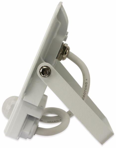 LED-Fluter, Bewegungsmelder OPTONICA FL5842, EEK: A+, 10 W, 4500K, weiß - Produktbild 3