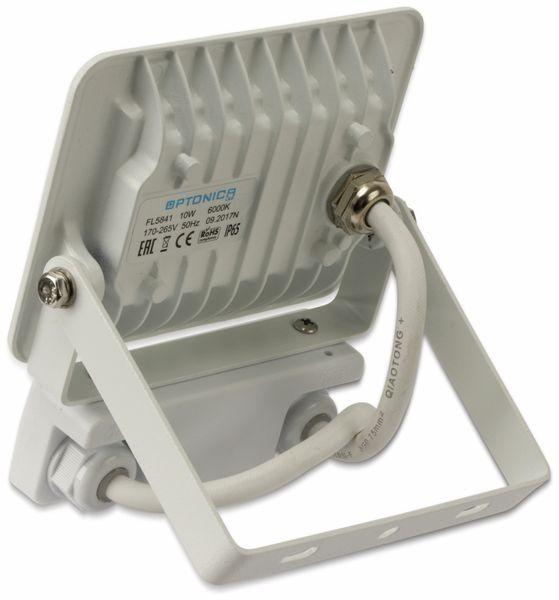 LED-Fluter, Bewegungsmelder OPTONICA FL5842, EEK: A+, 10 W, 4500K, weiß - Produktbild 4